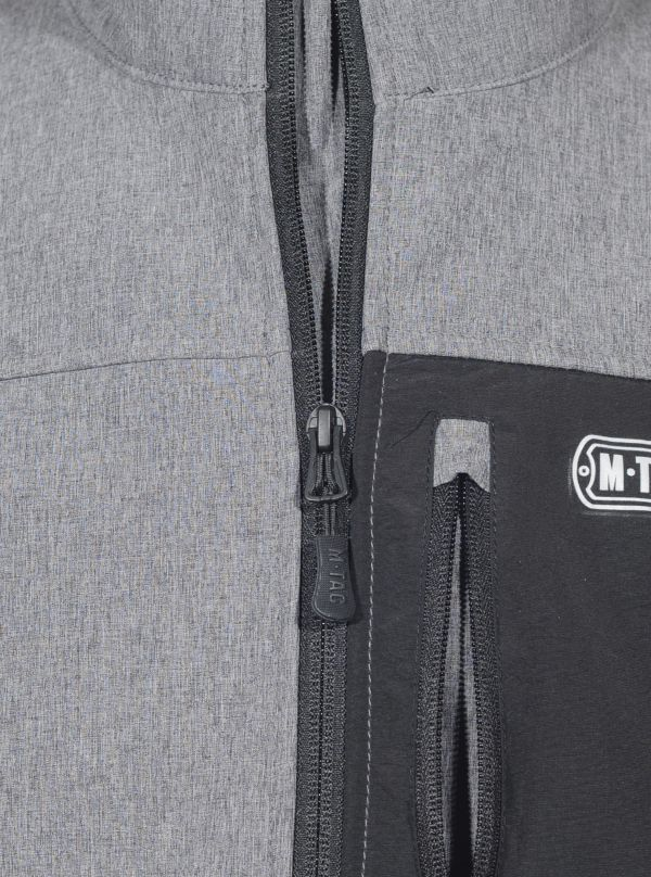 M-Tac куртка Rainstar Soft Shell Grey (фото 10) - интернет-магазин Викинг