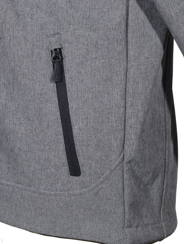 M-Tac куртка Rainstar Soft Shell Grey (фото 7) - интернет-магазин Викинг