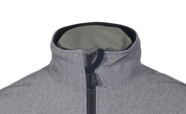 M-Tac куртка Rainstar Soft Shell Grey (фото 3) - интернет-магазин Викинг