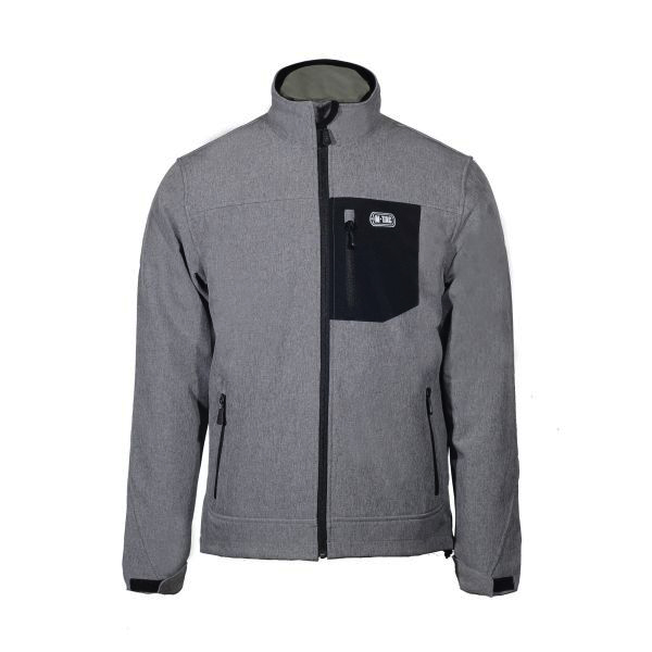 M-Tac куртка Rainstar Soft Shell Grey (фото 1) - интернет-магазин Викинг