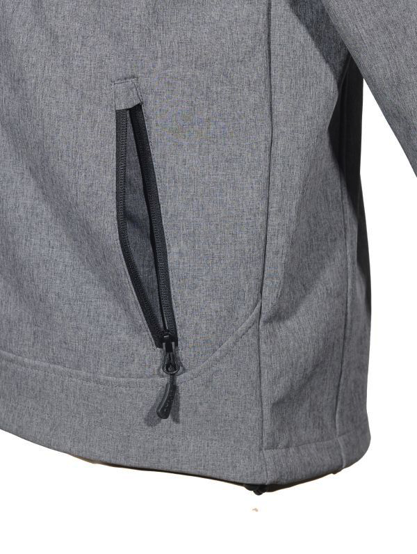 M-Tac куртка Rainstar Soft Shell Grey (фото 8) - интернет-магазин Викинг